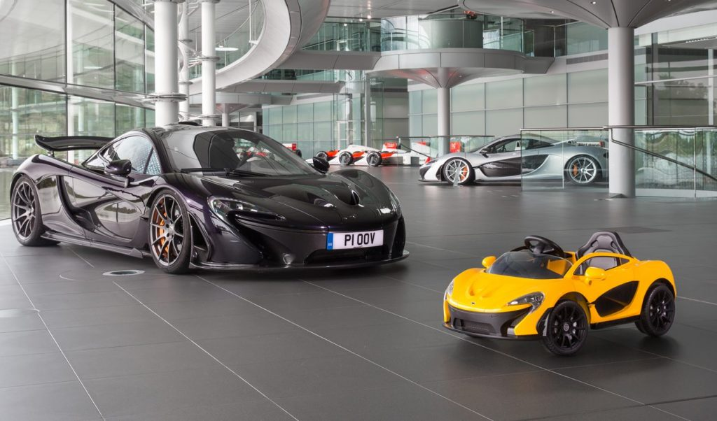 McLaren Releases First Car for Kids